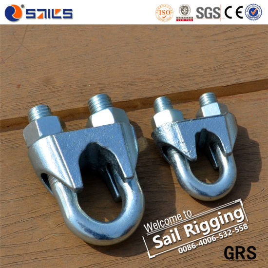 China U. S. Type Electrical Galvanized Casting Wire Rope Clips ...