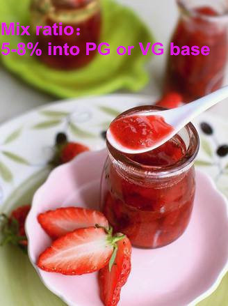 The Strawberry Jam Flavor Concentrates, Vape Juices for Electronic Cigarette pictures & photos