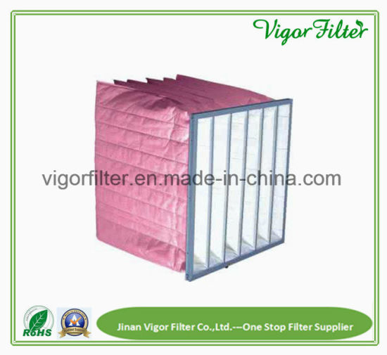 acab165f903 China HVAC Industrial Air Filter Pocket Bag with The F6 Efficiency ...