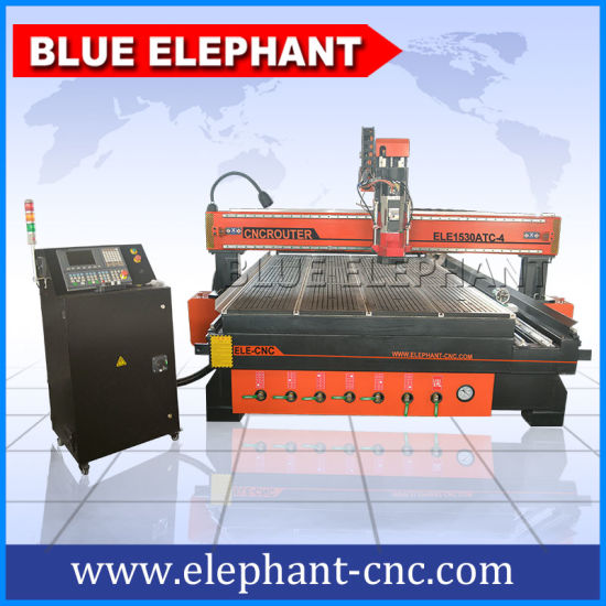 China All In One Woodworking Machine 4 Axis 1530 Cnc Router Machine