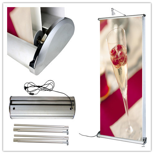 Standing Scrolling Roll up Banner Stand (DW-LD11)