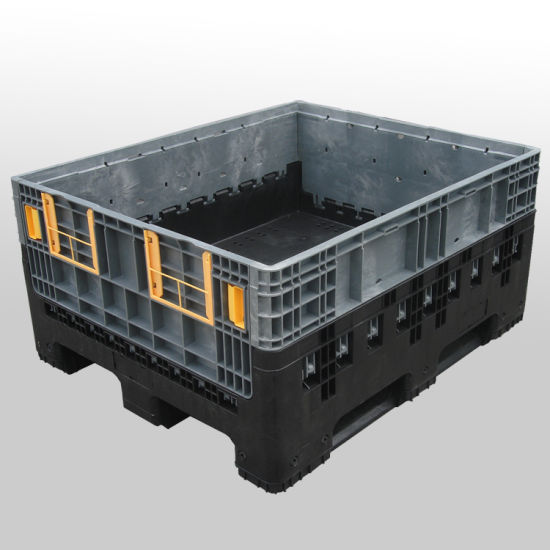 China 1200590 Standard Size Foldable Plastic Storage Container