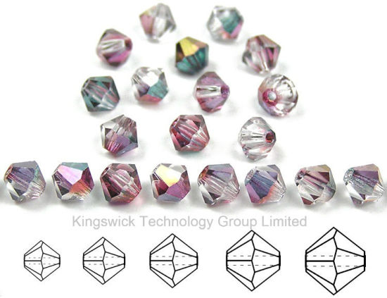 4mm Crystal Bicone Beads Wholesale pictures & photos