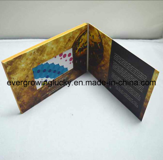 China Video Greeting Card For Christmas Wedding Birthday Party