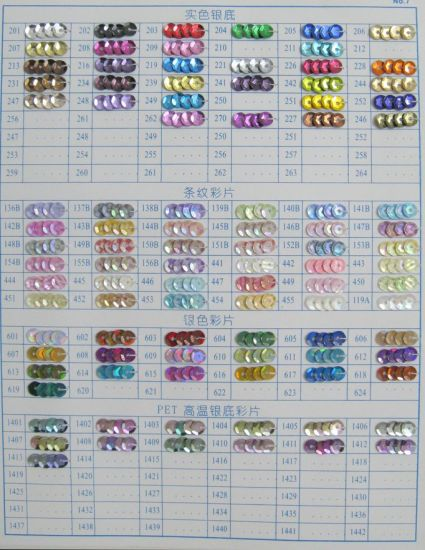 Fashion Loose Round Cup Sequins for Garment Accessories