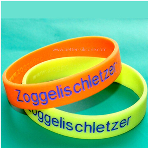 Engraved Silicone Wristbands for Promotional Items pictures & photos