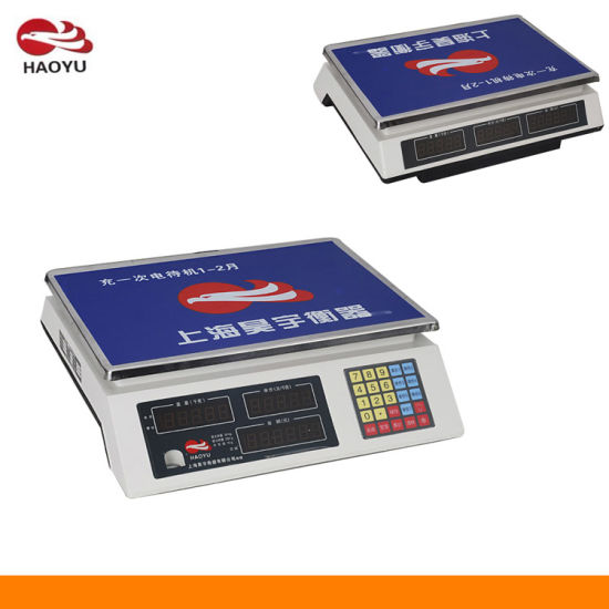 Platform Scale Electronic Price Scale (HY-918) pictures & photos