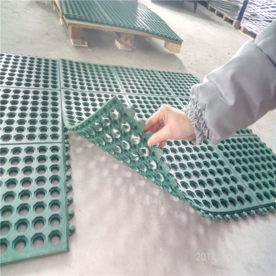 China Supplier Rubber Anti-Slip Mat Hotel Rubber Mats Acid Resistant Rubber Mat pictures & photos