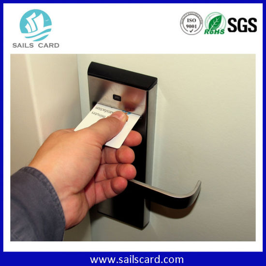 Hotel RFID Key Card to E- Lock pictures & photos