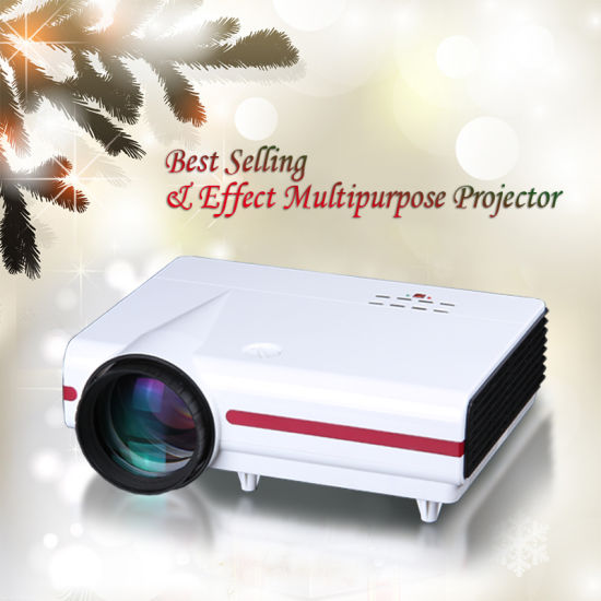 LCD 720p Support 1080P WiFi USB HD Mini LED Projector pictures & photos