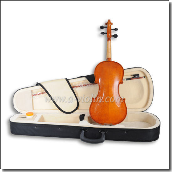 Purfled Student Violin with Case Wholesale (VG106D) pictures & photos