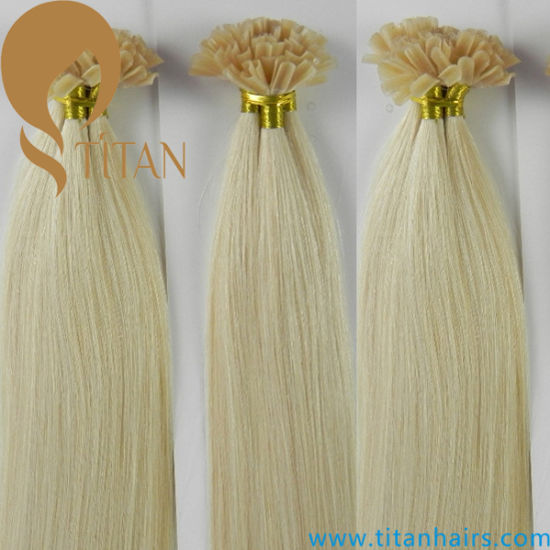 Keratin Nail Hair Extension/U Tip Hair Extension pictures & photos