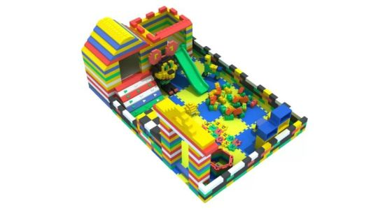 Attractive Appearance Large EVA Foam Outdoor Playground EPP Building Blocks