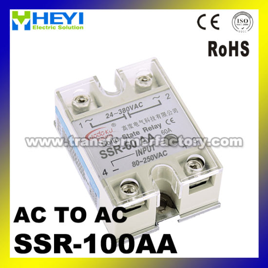 china ssr 100a ac to ac solid state relay ssr 100a china ssr 100assr 100a ac to ac solid state relay ssr 100a pictures \u0026 photos