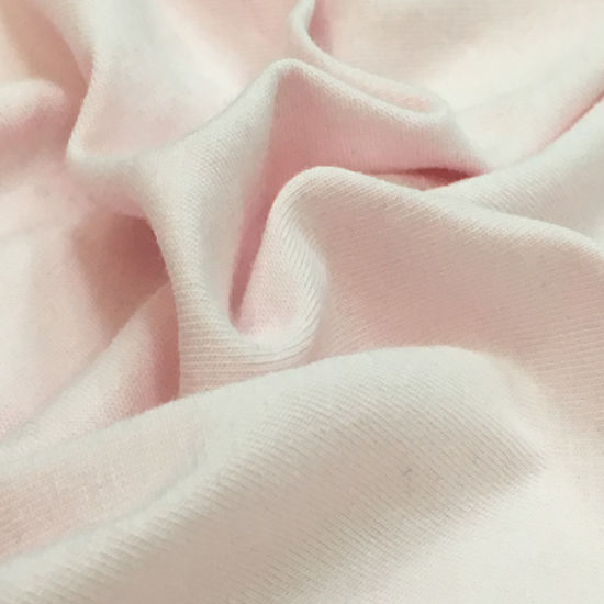 95/5 Combed Cotton Spandex Single Jersey Knit Fabric for T-Shirt