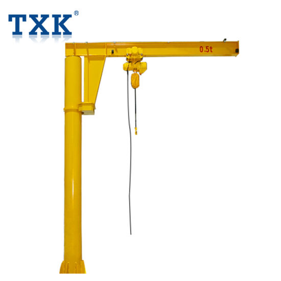 Txk 3t Small Mini Mobile Jib Crane with Wheels pictures & photos
