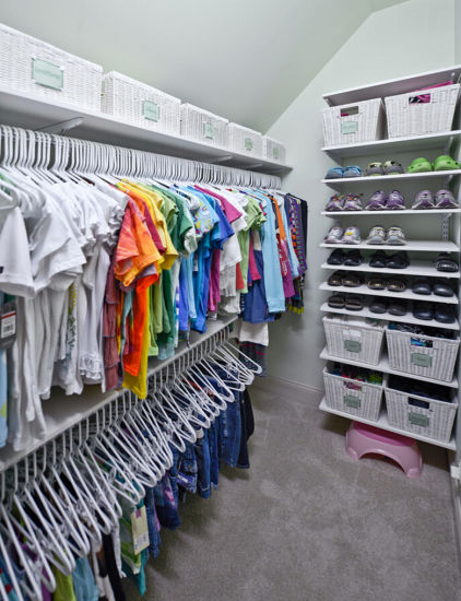 Baby Bedroom Garderobe Modern Walk In Closet