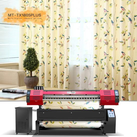 2021 Roll Sublimation Textile Printer Mt-Tx1805plus for Silk/Cotton Direct Printing