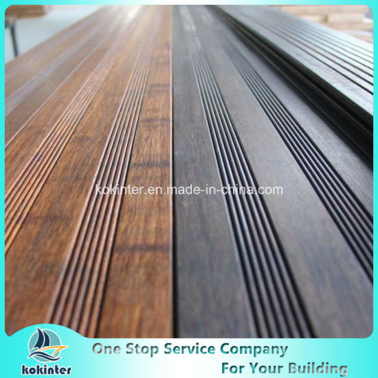 Bamboo Decking Outdoor Strand Woven Heavy Bamboo Flooring Villa Room 53 pictures & photos