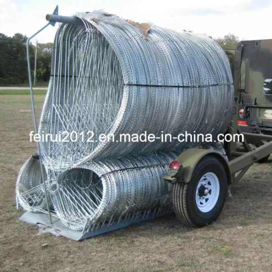 China Military & Police Razor Wire Barrier System - China Rapid ...