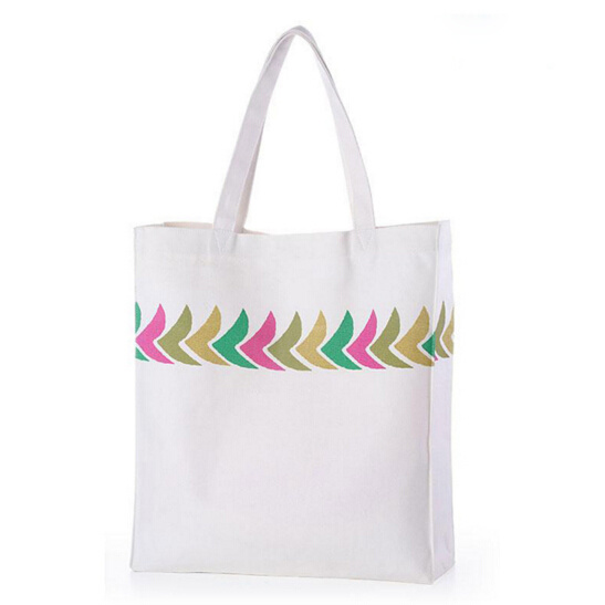 Promotion Wholesale Cotton Hand Bags Women Canvas Beach Tote Bag pictures & photos