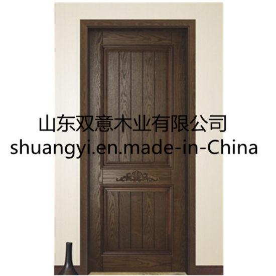 Fancy Wood Door Design Solid Teak Wood Luxury Main Door