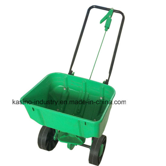 25kgs Capacity Manual Plastic Seeder/Lawn Seed Spreader Tc2027