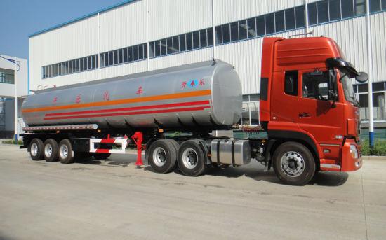Stainless Steel Fuel Tank Semi Trailer