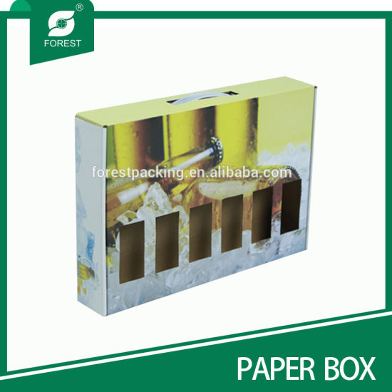 Corrugated Beer Bottle Paper Packaging Boxes pictures & photos