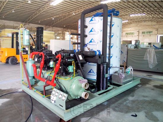 Large Commercial Icee Flake Making Machine pictures & photos