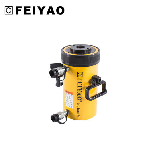 Rrh Series Double-Acting Hollow Plunger Hydraulic Cylinder (FY-RRH) pictures & photos