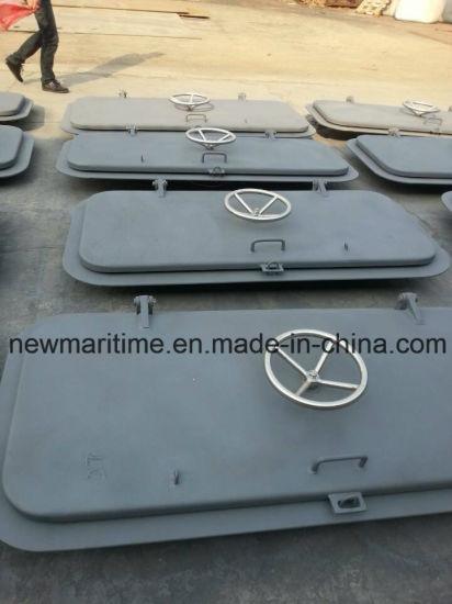 Hand Wheel Marine Steel Bulkhead Door