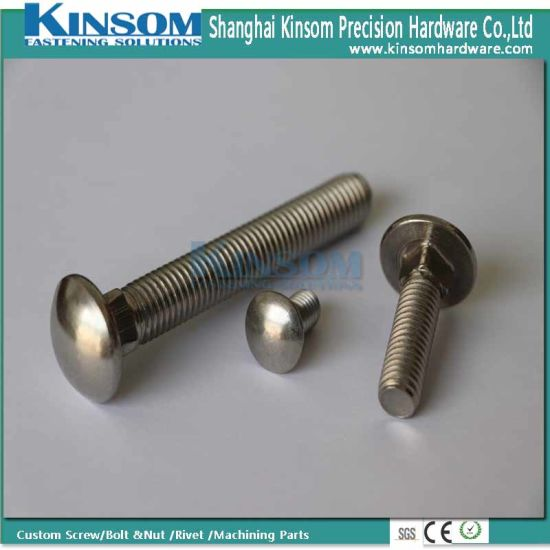 A2-70 High Strength Square Neck Stainless Steel Carriage Bolt