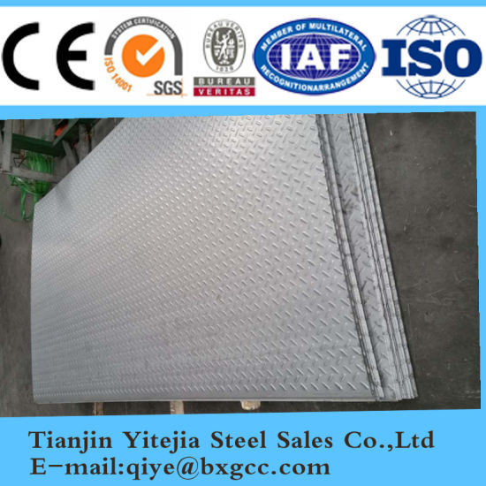Checkered 316L Stainless Steel Plate pictures & photos