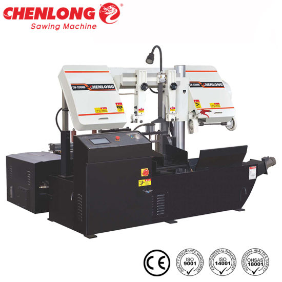 Auto Band Saw Machine for Metal Cutting with Manual (CH-330HB)