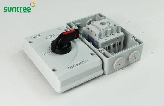 china dc1000v 32a 4 pole solar 63a isolator switch siso