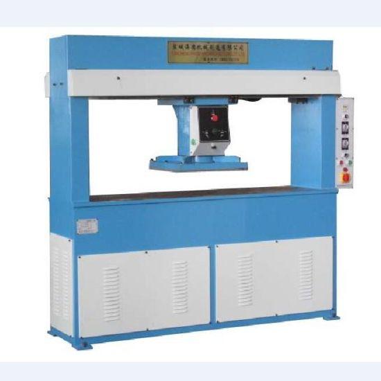 Hydraulic Traveling Head Die Cutting Press Shoe Machine