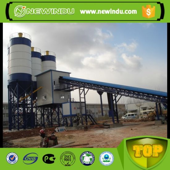 Dry Mobile 90m3/H Concrete Batching Plant for Sale pictures & photos