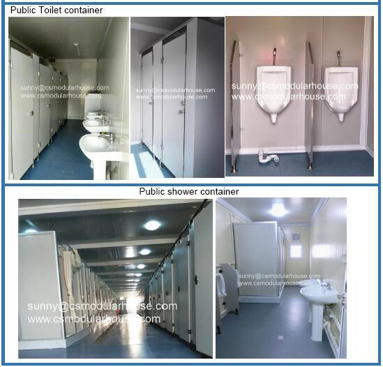 Flat Pack Container Living House /Toilet Container/Accommodation Container pictures & photos