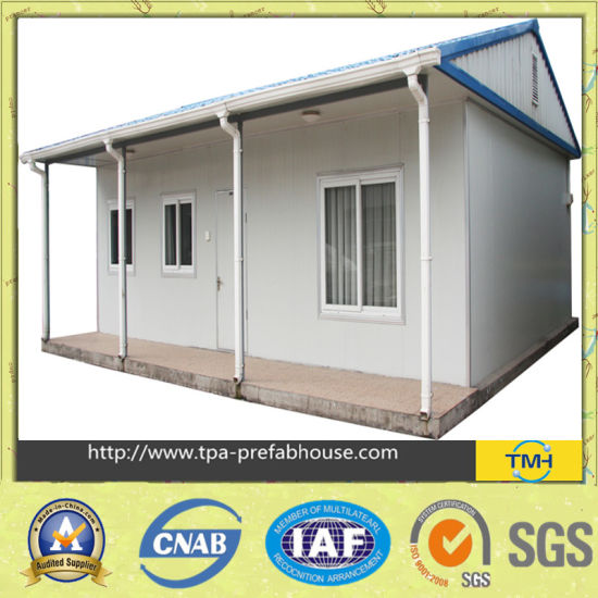 Color Steel Sandwich Panel Prefabricated House pictures & photos