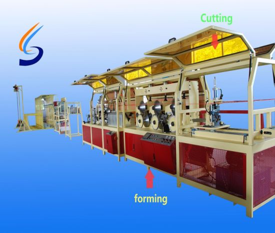 High Speed Paper Edge Protection Board Machine