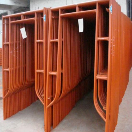 Q235 Steel H Frame Scaffolding for Formwork Construction