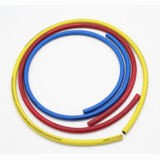 China Nylon Barrier Aging Resistant Refrigerant Charging Hose