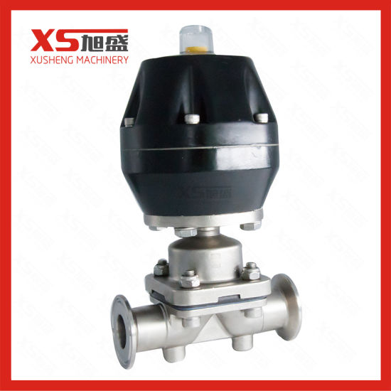 China stainless steel ss l pneumatic diaphragm valve