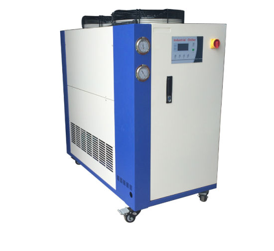 5 HP 10HP Plastic Industrial Air Cooled Water Chiller for Blow Molding