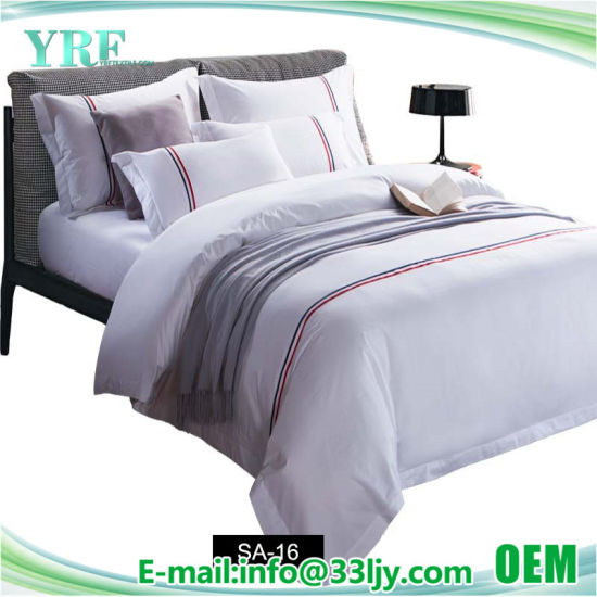 Cotton Embroidery Bedroom China Factory Cotton Quilt Set pictures & photos
