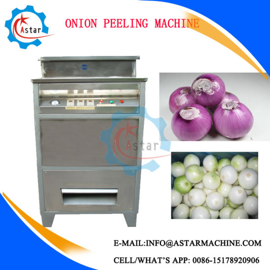 500kg/H Onion Skin Peeling Machine Skin Peeler pictures & photos