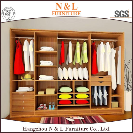 China Modular Closet Designs Wooden Bedroom Wardrobe China