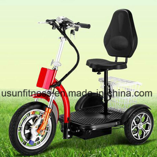 2018 New Design Folding Three Wheels Electrical Scooter Trikke Mobility Scooter Electric Bicycle pictures & photos