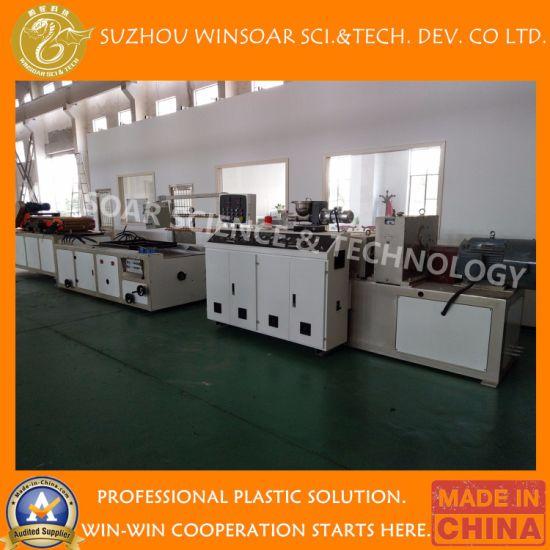 Winsoar Plastic Recycling PP/PE/PE WPC/PVC WPC/PVC/Mpp/HDPE Sheet/Plate/Board/Bucket/Pipe/Profile Making/ Extruder Machine